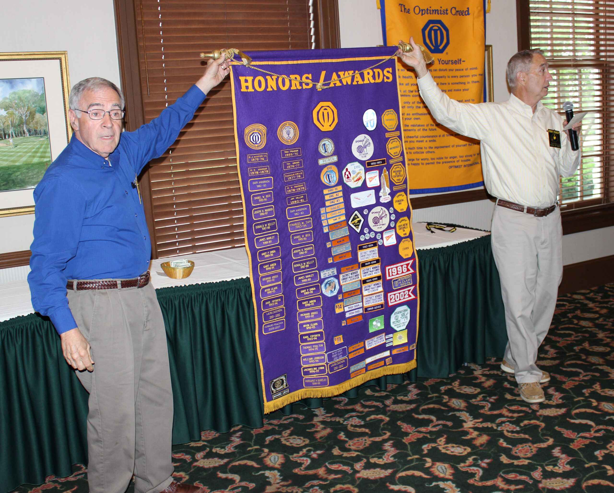 Centerville Noon Optimists most decorated club in Ohio — June 2nd, 2015