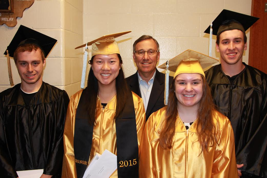 Scholarship Award Winners recognized — May 19th, 2015