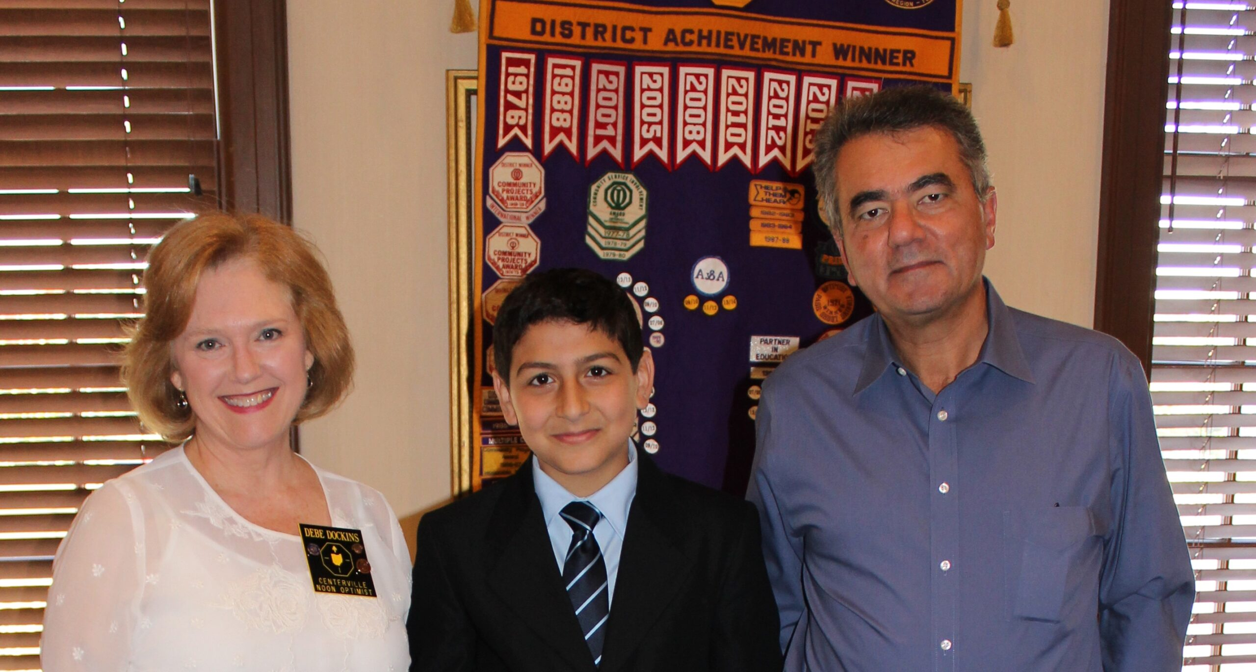 Incarnation student wins speech competition — October 20th, 2015