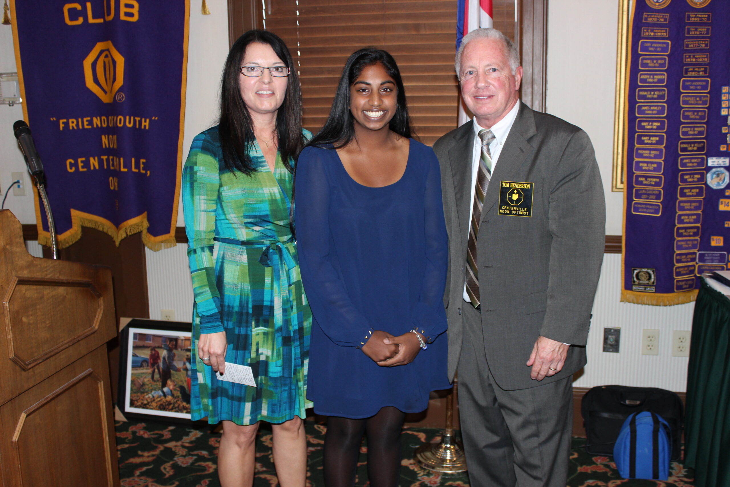 Centerville students honored with Youth Appreciation Award–November 3rd, 2015