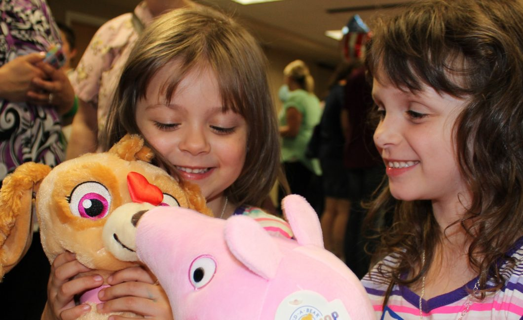 Optimists Host Free Build a Bear Event for Kids Fighting Cancer at Dayton Children's