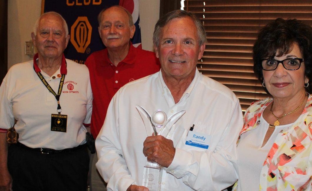 Hero Award presented to Kroger's Randy Eldridge — June 7th, 2016