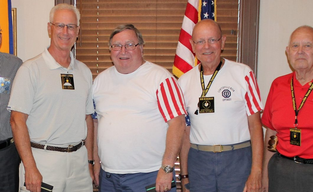 Optimist Members recognized for outstanding contributions — Sept 6th, 2016
