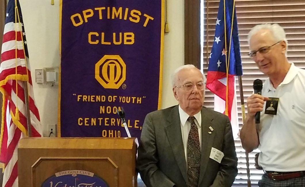 Noon Meeting News – April 25, 2017 – Dick Dutro WWII Veteran