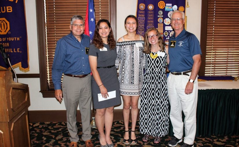 Noon Meeting News – May 30, 2017 – Memorial Scholarship and Educator of the Year Awards