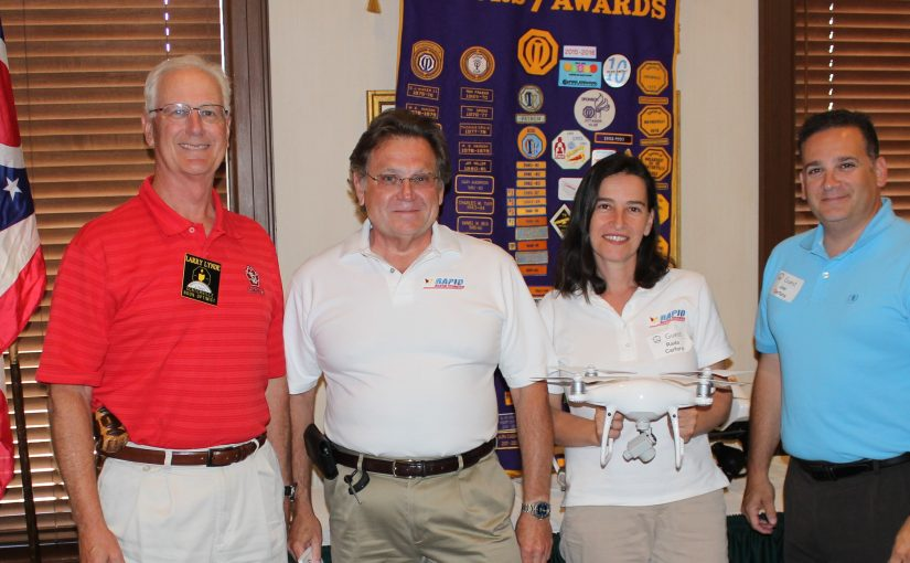 Noon Meeting News – June 27, 2017 – Dennis Fisher – Rada and Joe Carfora – All About Drones
