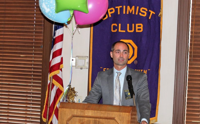 Noon Meeting News – July 11, 2017 – Chris McAlpine and Jean Pummill – About the Recent Optimist International Convention