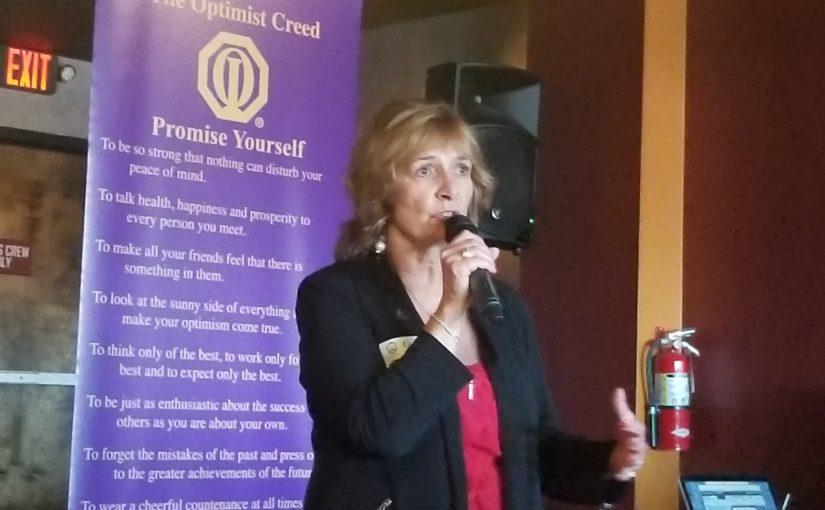 Optimist 2.0 Meeting News – April 19, 2018 – Becky Edgren – PuroClean of Dayton