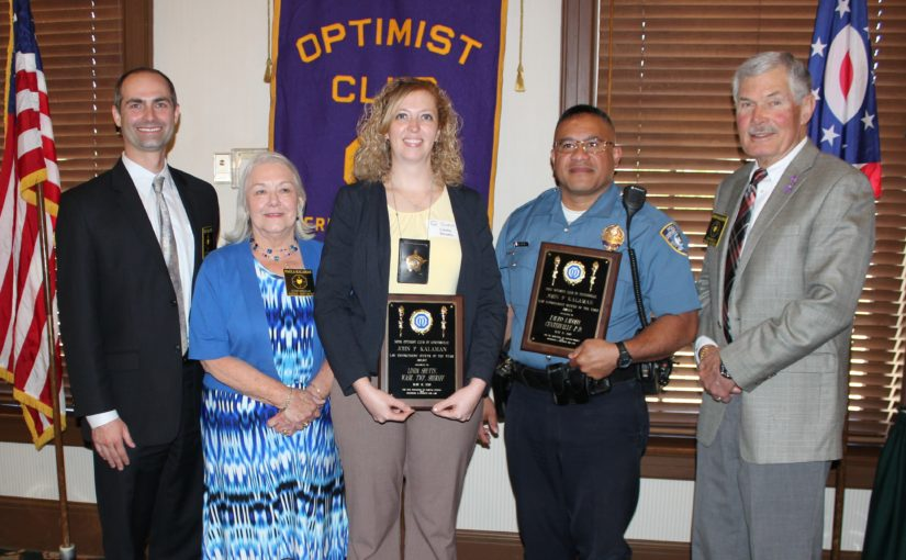 Noon Meeting News – May 8, 2018 – Respect for Law Awards Presented