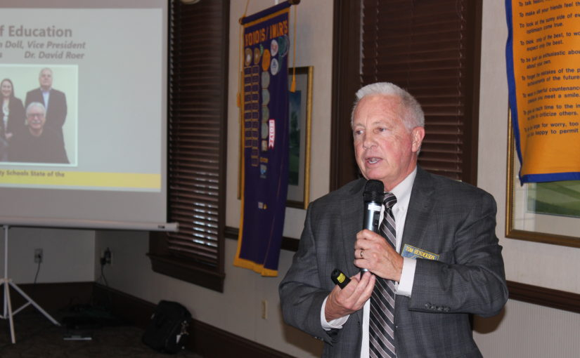 CNOtes – May 14, 2019 – Dr. Tom Henderson – Centerville City Schools Presentation