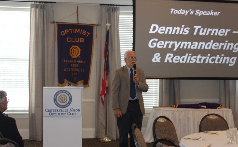 CNOtes 9/14/21: Dennis Turner, Gerrymandering in Ohio